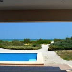 Beachfront home for sale in Yucatan Mexico