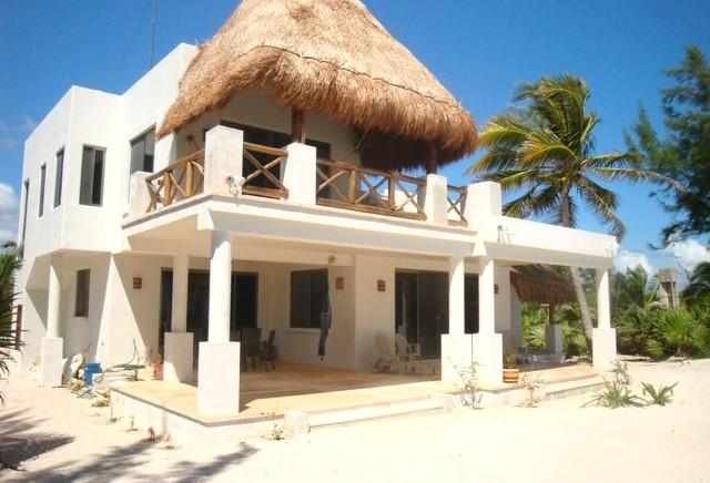 Cancun Beach House Architectural Designs