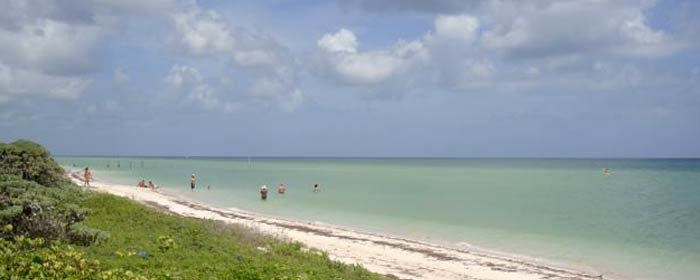 Beachfront lot for sale in Mexico