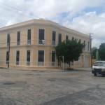 Corner colonial in Santiago colonia of Merida Yucatan