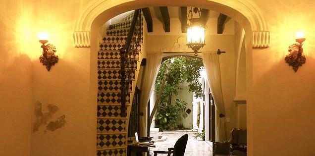 European style colonial home in Santa Ana Merida Yucatan