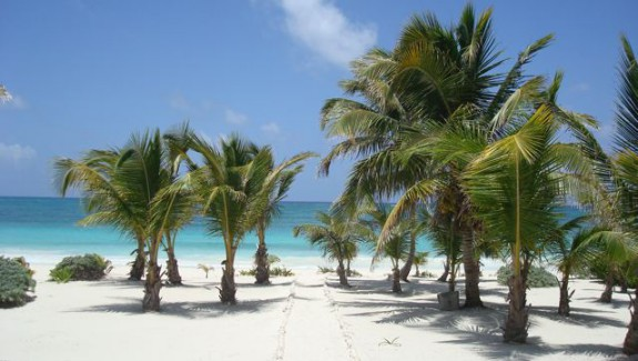 Three bedroom Beachfront house for sale in Mahahual Mexico
