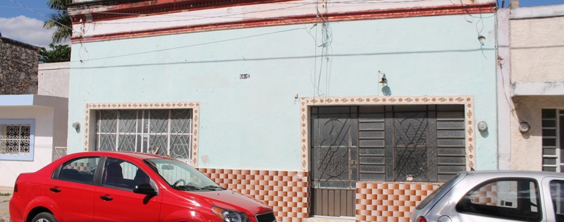 large colonial with second house for sale in Merida Mexico
