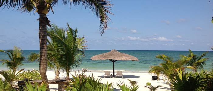 Beachfront house for sale in Mexico