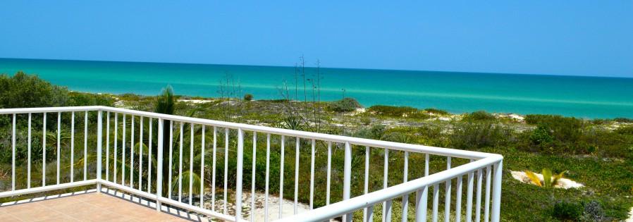 Beachfront home in Yucatan