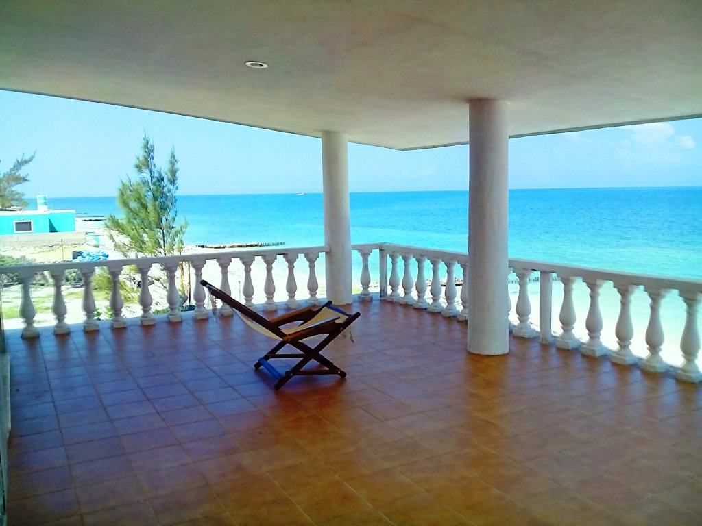 Chelem Beachfront Beauty - Yucatan Home for Sale