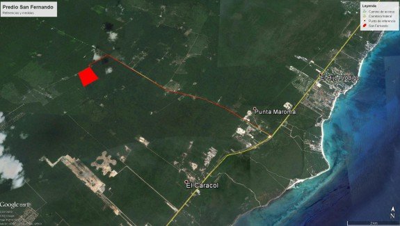 Riviera Maya development land parcel in Mexico