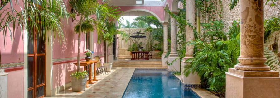 Renovated colonial in downtown Merida Yucatan for sale