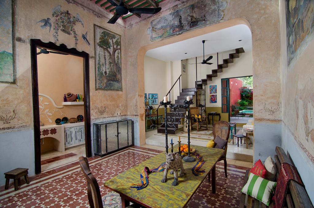 Casa el Cazadero, Restored Colonial for sale in Merida