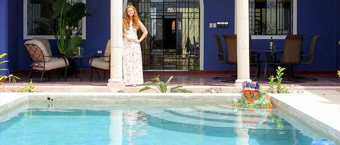 Vacation rental in Merida centro