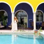 Merida vacation rental in centro pool