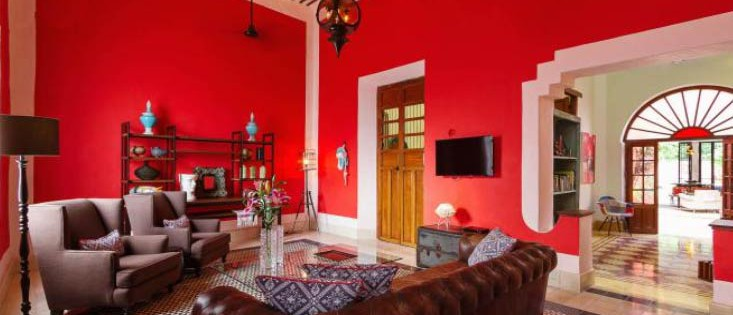 Living room house for sale Casa Merida