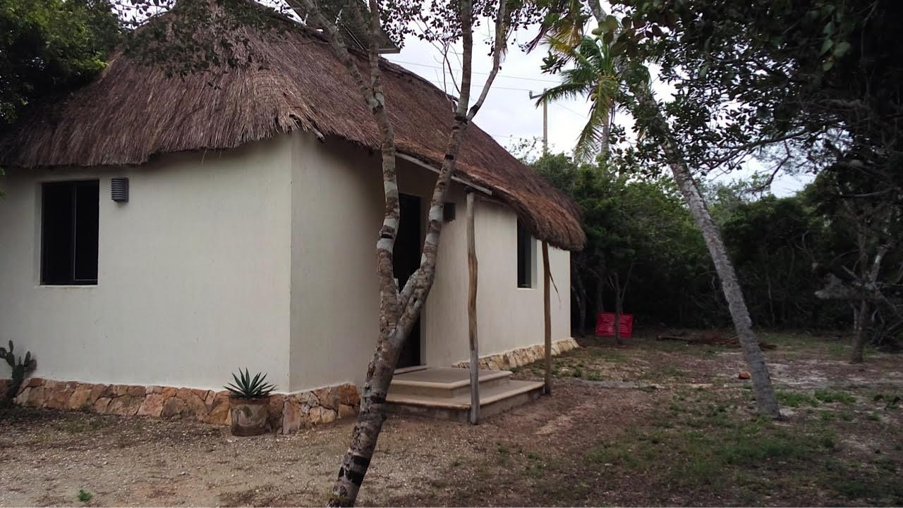 Modern Maya Bungalow At Sisal Beach In Yucatan