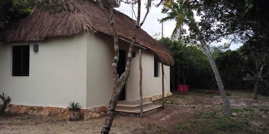 Modern Maya Bungalow At Sisal Beach In Yucatan