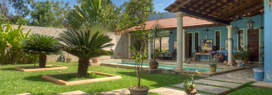Hacienda style living in Merida Yucatan