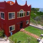Beachfront home for sale in Yucatan Mexico