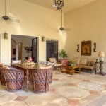 outdoor living Hacienda House in Merida Centro for sale