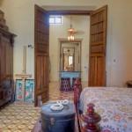 bedroom hallway Hacienda House in Merida Centro for sale
