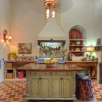 kitchen wide shot Hacienda House in Merida Centro for sale