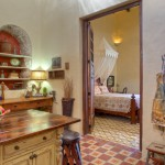 into the bedroom Hacienda House in Merida Centro for sale