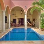 swimming pool Hacienda House in Merida Centro for sale