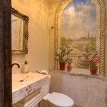 bath detail Hacienda House in Merida Centro for sale