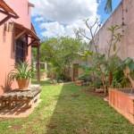 back garden Hacienda House in Merida Centro for sale