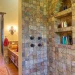 tile shower bathroom Hacienda House in Merida Centro for sale