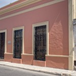 facade Hacienda House in Merida Centro for sale