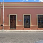 facade 2 Hacienda House in Merida Centro for sale