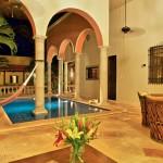 night  Hacienda style home for sale in Merida Yucatan