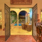 to the pool  Hacienda style home for sale in Merida Yucatan