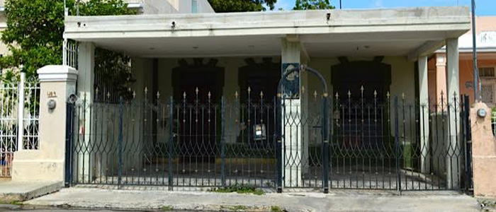 Avocado fixer upper house in Merida Yucatan Mexico