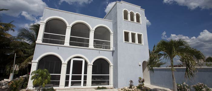 house by marina for sale in yucatan