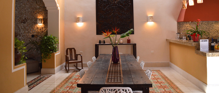 colonial renovated home for sale in Merida Mexico