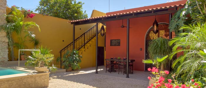 Colonial home for sale in Merida Yucatan Mexico