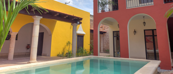 Large colonial in downtown Merida Yucatan for sale