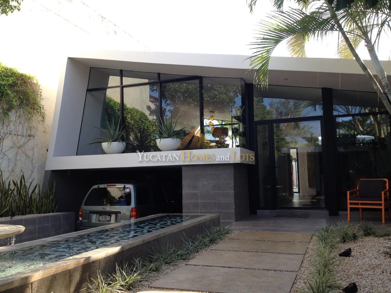Rare midcentury modern yhl3018 yucatan homes and lots for Mid century modern house for sale