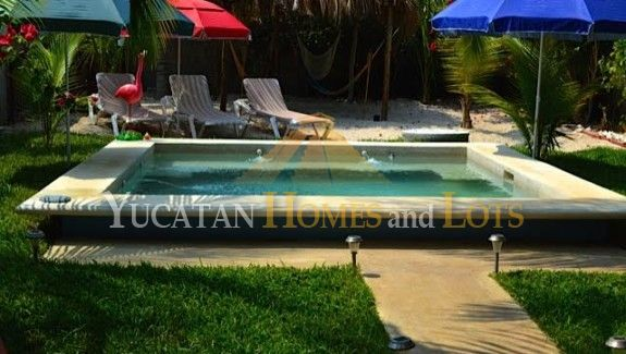 Beach home in Chelem Yucatan for sale 22