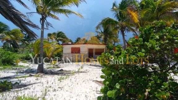 San Crisanto Yucatan beachfront lot for sale 1499897200835