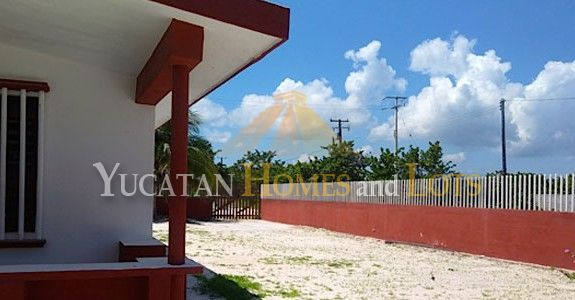 Large beach property for sale in Chelem Yucatan