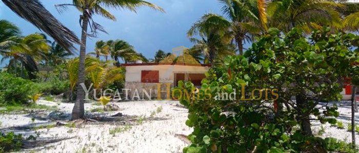 San Crisanto beachfront lot for sale in Yucatan