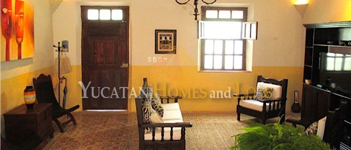 Renovated colonial in Santa Ana, Merida, Yucatan