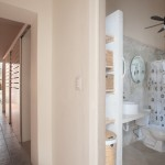 Renewed and renovated colonial in Santa Ana Calle 45_Master Bath_Hallway