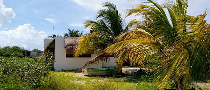 Beach house in Chicxulub