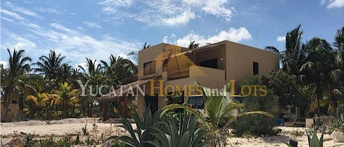 San Crisanto beach house for sale in Yucatan