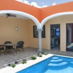 37 Two story renovated home with swimming pool in Merida centro