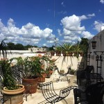 40 2nd Floor Patio Deluxe villa for sale in Merida Yucatan Mexico