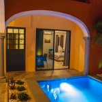 66 Two story renovated home with swimming pool in Merida centro