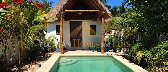 beach bungalows for sale in yucatan mexico
